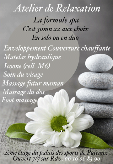 Flyer atelier relaxation
