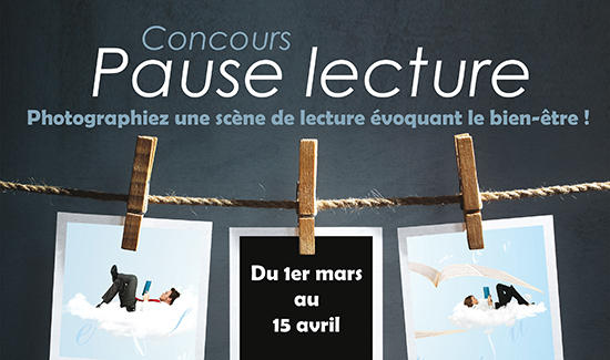 Concours photos: «Pause lecture»
