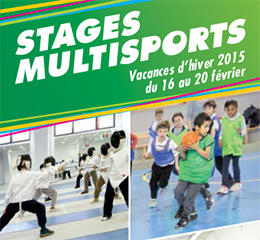 stages multisports 4-12 ans