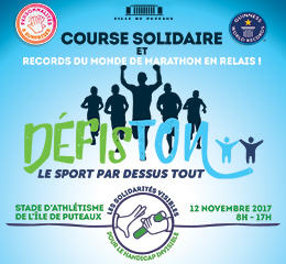 Defiston, courses caritatives