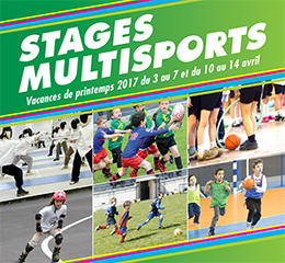 Stages Multisports Printemps 2017