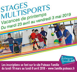 Stage Multisports Printemps 2019