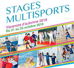 Stages multisports automne 2019
