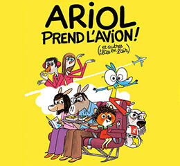 Ariol prend l'avion