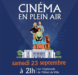 Ciné plein air 23 septembre 2017