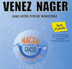 Nager à contre cancer