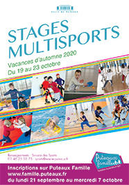 Stages multisports automne 2020
