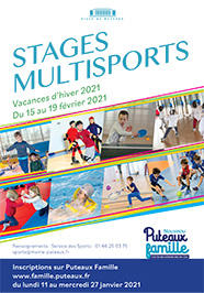 Stages multisports hiver 2021