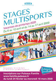 Stages multisports Printemps 2020