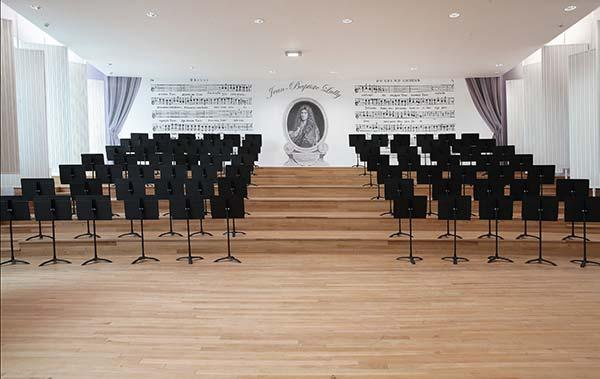 Salle des choeurs - Conservatoire JB Lully